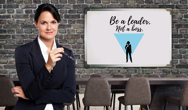 Boss Businesswoman Executive Leadership Supervisors